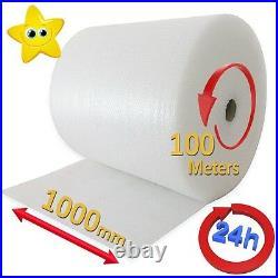 1000mm x 3 x 100m ROLLS BUBBLE WRAP 300 METRES 24HR DEL