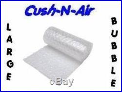 1200mm x 2 x 50M ROLLS OF HIGH QUALITY LARGE BUBBLE WRAP CUSH N AIR
