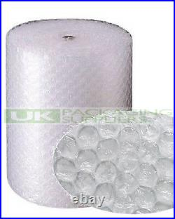 2 LARGE BUBBLE WRAP ROLLS 1000mm (1m) WIDE x 50 METRES LONG PACKAGING NEW