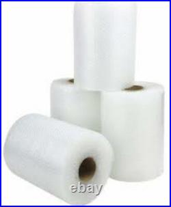 2 ROLLS OF BUBBLE WRAP SIZE 1500mm (1.5m) HIGH x 100 METRES LONG SMALL BUBBLES