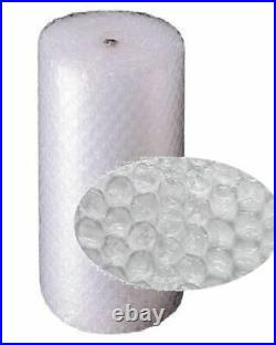 2 Rolls Of Large Bubble Wrap Size 1500mm x 50m Protective Cushioning Packaging