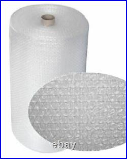 2 Rolls Of Small Bubble Wrap Size 1000mm x 100m Protective Cushioning Packaging