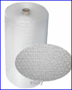 2 Rolls Of Small Bubble Wrap Size 1200mm x 100m Protective Cushioning Packaging