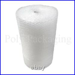 2 x 50m x 1500mm/150cm Wide LARGE BUBBLE WRAP ROLLS Extra Width Postal/Storage
