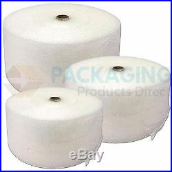 300mm x 15 x 100m ROLLS OF BUBBLE WRAP 24HR DELIVERY