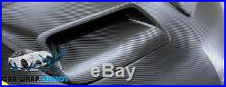 3D Carbon Fibre Vinyl 1.52 x 10 Meters Roll Black Bubble Free Car Wrap Vinyl
