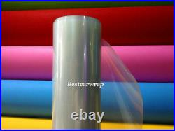 3 Layers Paint Protection Film For Car Wrapping Transparent Vinyl Bubble Free