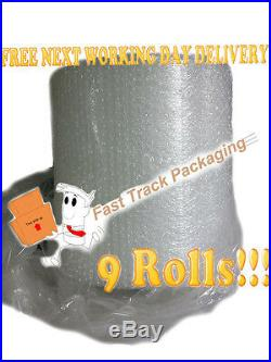 3 x Bundles of Small Bubble Wrap 500mm x 100M (9 Rolls) Superb Quality