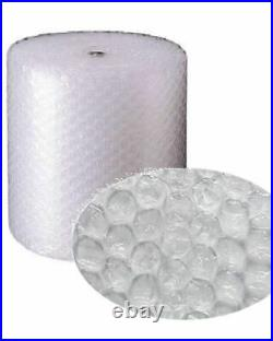 4 Rolls Of Large Bubble Wrap Size 750mm x 50m Protective Cushioning Packaging