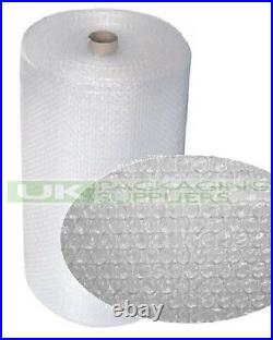 4 SMALL BUBBLE WRAP ROLLS 1000mm WIDE x 100 METRES LONG PACKAGING CUSHIONING