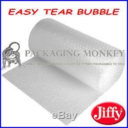 500mm x 9 x 100M ROLLS OF EASY TEAR JIFFY BUBBLE WRAP 900 METRES