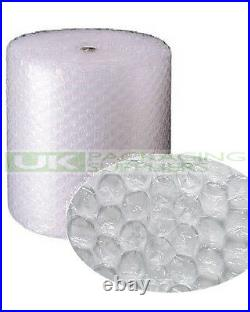 6 LARGE BUBBLE WRAP ROLLS 750mm WIDE x 50 METRES LONG PACKAGING CUSHIONING NEW