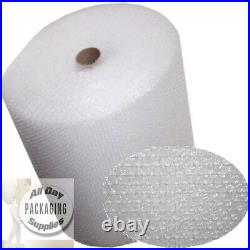 6 ROLLS OF BUBBLE WRAP SIZE 500mm (50cm) HIGH x 100 METRES LONG SMALL BUBBLES