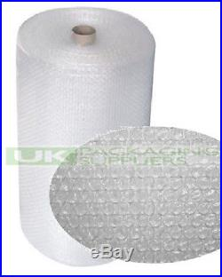 6 SMALL BUBBLE WRAP ROLLS 1000mm WIDE x 100 METRES LONG PACKAGING CUSHIONING