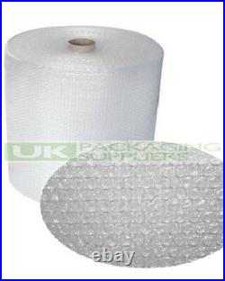 6 SMALL BUBBLE WRAP ROLLS 500mm WIDE x 100 METRES LONG PACKAGING CUSHIONING NEW