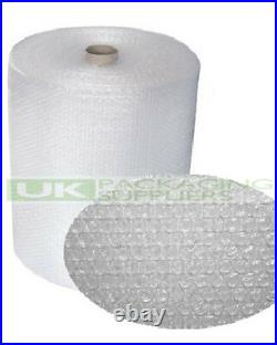 6 SMALL BUBBLE WRAP ROLLS 600mm WIDE x 100 METRES LONG PACKAGING CUSHIONING NEW