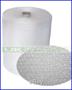 8 SMALL BUBBLE WRAP ROLLS 600mm WIDE x 100 METRES LONG PACKAGING CUSHIONING NEW