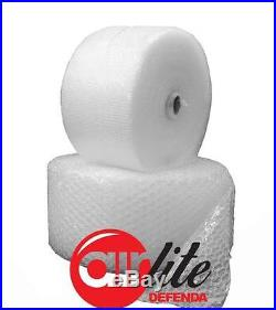 8 x ROLLS 750mm x 100 METER OF STRONG AIRLITE Air Lite BUBBLE WRAP SMALL BUBBLES