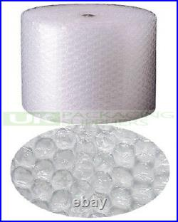 9 LARGE BUBBLE WRAP ROLLS 500mm WIDE x 50 METRES LONG PACKAGING CUSHIONING NEW