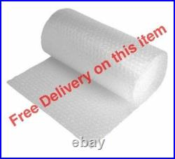 9 x 500mm x 100m ROLL BUBBLE WRAP 900 METRES FAST DELIVERY