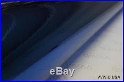 Blue Chrome 30M x 1.52M Car Wrap VViViD9 Cast Vinyl Roll Bubble Free