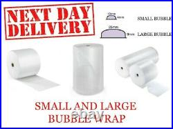 Bubble Wrap 100 meters Rolls Packing Supplies Widths 300/500/600/750/1000mm