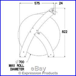 Bubble Wrap Dispenser Ergonomically Designed Roll Holder For Professional Use