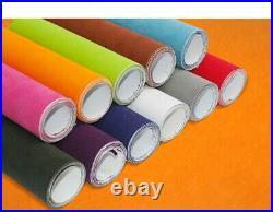 Car Color Changing Velvet Vinyl Roll Auto Car Vehicle Body Wrapping Bubble Free