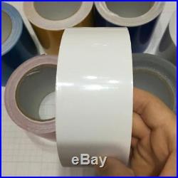 Adhesives Wrap Sticker DIY High Gloss Glossy Black Vinyl Tape Automotive Grade
