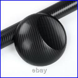 Car Vinyl Wrap 4D BLACK CARBON FIBRE Sheet Car Wrapping Air Bubble Free