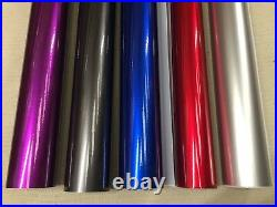 Car Vinyl Wrap Auroral Metallic Gloss Wrapping Film Sticker Air Free Bubble