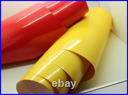 Car Wrap Vinyl RED Gloss Vinyl Wrap Sheet Car Wrapping Air Bubble Free