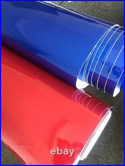 Car Wrapping Supper Gloss Metallic Vinyl Wrap Air Free Bubble Film Sticker
