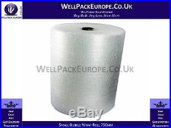 DEAL 20 x SMALL BUBBLE WRAP ROLL SMALL BUBBLES 750mm x 100M BUBBLE WRAP PACK