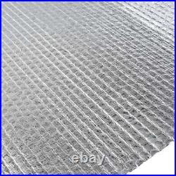 Double Foil Single Layer Air Bubble Wrap Aluminum Insulation Roll 10/25/40m
