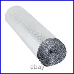 Double Foil Single Layer Air Bubble Wrap Aluminum Insulation Roll Wall Loft Roof