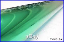 Green Chrome Vinyl Roll 5ft x 27ft Bubble-Free Wrap for Car Bike Boat Trailer