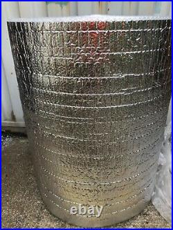 Insulation-reflective foil bubble wrap large Roll 1250m wide 100 metres long
