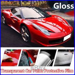 Invisible GLOSS Car Paint Protection Film Transparent Wrap Vinyl Bubble Free