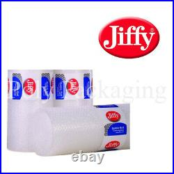 JIFFY BRANDED SMALL Bubble Wrap 500mm x 100m x 6 Rolls Premium Straight Tear