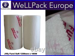 Jiffy Furnisoft Bubble Wrap Foam Wrap Blanket Furniture Art Packing Roll 120CM