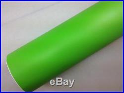 Matte Apple Green Vinyl Roll Full Car Vehicle Wrap 1.52m X 30m Bubble Free Matt