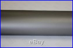 Matte Dark Grey Vinyl Roll 5ft x 74ft Bubble-Free Exterior Sheet Film Wrap