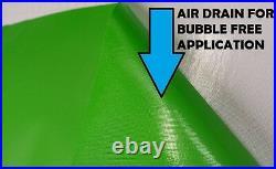 Matte Green Wrapping Vinyl 1.52 x 15 Meter Roll HiFlex Bubble Free Car Wrap