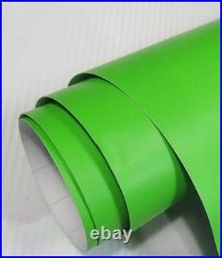 Matte Green Wrapping Vinyl 1.52 x 5 Meter Roll HiFlex Bubble Free Car Wrap