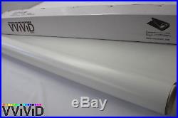 Matte White Vinyl Wrap Sticker Sheet Roll 5ftx25ft Bubble Free Technology MW5M
