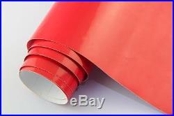 Premium Gloss Red Vinyl Roll Full Car Vehicle Wrap 1.52m X 30m Bubble Free