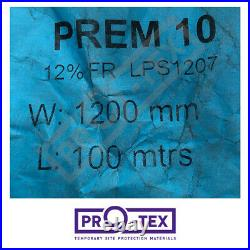 Pro-Tex Small Bubble Wrap Roll (Fire Resistant) 100m x 1200mm FR / FRA