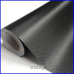 ROLL Carbon Black Vinyl Wrap for Car'Air Bubble Free 30 m x 1m 52cm
