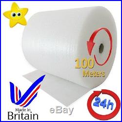 SMALL BUBBLE WRAP ROLL 500mm WIDE PACKAGING CUSHIONING WRAP NEW